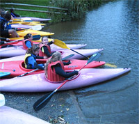 Bede House Junior Club Canoeing lessons